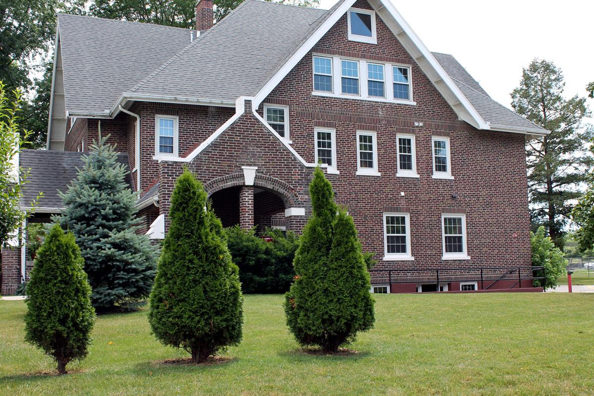 Iowa House Exterior